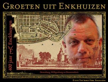 Burgemeester Jan Baas verruild Wieringen voor Enkhuizen