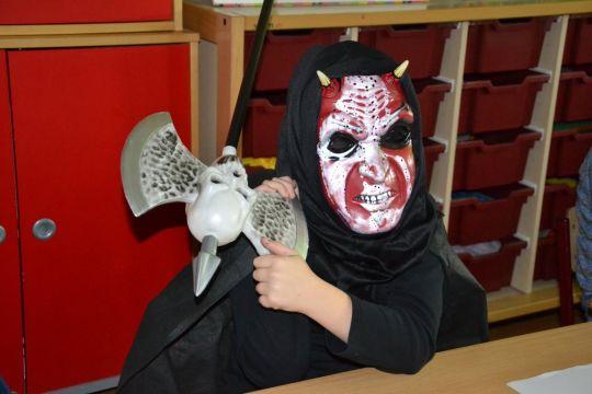Halloween Werkjes.De Kei Voor N Dag Een Griezelschool
