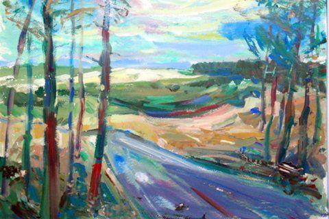 natuur schilderen met acryl