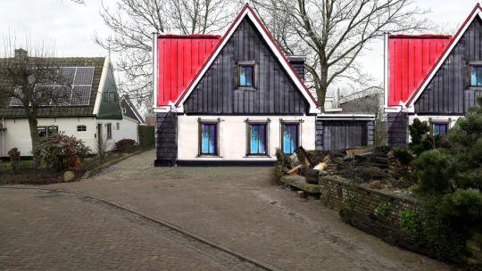 Buren niet blij met bouwplannen oosterland - Te bouwen zijn bibliotheek ...